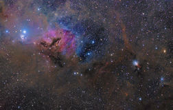 Nebulosity in the Taurus Constellation royalty free stock photography