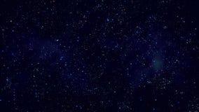 Nebulosor för utrymme för stjärnafält Arkivbild