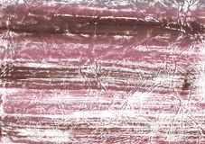 Pink brown vague wash drawing background Stock Photography