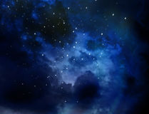Nebura universe cosmos abstract nature background. Stock Images