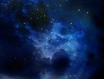 Nebura wszechrzeczego kosmosu natury abstrakcjonistyczny tło Obrazy Stock