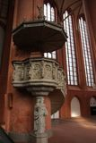 Neburg εκκλησία LÃ ¼ Στοκ φωτογραφία με δικαίωμα ελεύθερης χρήσης