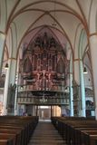 Neburg kerk LÃ ¼ Royalty-vrije Stock Fotografie