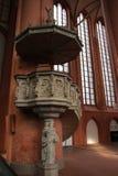 Neburg kerk LÃ ¼ Royalty-vrije Stock Foto