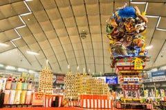 Nebuta东京,日本 免版税库存图片