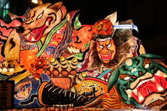 Nebuta Festival Japan #1 Royalty Free Stock Photo