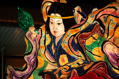 Nebuta Japanese Women Royalty Free Stock Photo