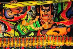 Nebuta lantern in Aomori, Japan. Lantern float for Nebuta Festival (Nebuta Matsuri). The festival is held annually from August 2 to 7 in Aomori, Japan royalty free stock images
