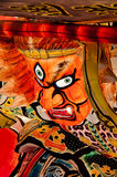 Nebuta lantern in Aomori, Japan. Lantern float for Nebuta Festival (Nebuta Matsuri). The festival is held annually from August 2 to 7 in Aomori, Japan stock photo