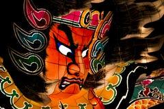 Nebuta ståtar flötet Royaltyfri Bild