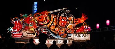 Nebuta warrior float Stock Image