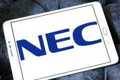 NEC Corporation logo Royalty Free Stock Image