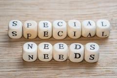 Necesidades especiales imagen de archivo libre de regalías