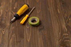 Necessary locksmith's tools Stock Photos