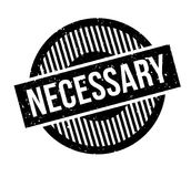 Necessary rubber stamp Royalty Free Stock Photos