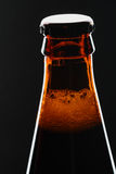 Neck of beer bottle Royalty Free Stock Photos