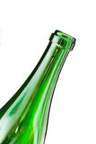 Neck of a bottle of champagne wine Stock Photos