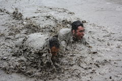 Neck Deep In Mud Royalty Free Stock Photo
