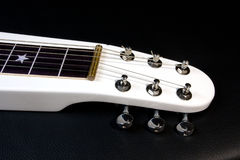 Neck of the electric lap steel guitar Royalty Free Stock Photos