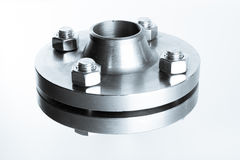 Neck flanges. Stock Image
