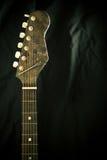 Neck of a guitar Stock Photos