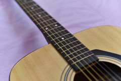 Neck Guitar Close Up Royalty Free Stock Photo