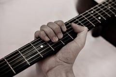 Neck Guitar Close Up Royalty Free Stock Image