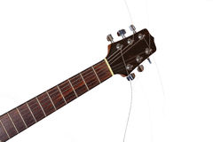 Neck of the guitar Royalty Free Stock Images