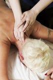 Neck Massage Royalty Free Stock Images