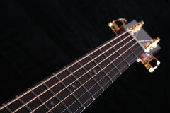 Neck Of The Guitar Stock Photography