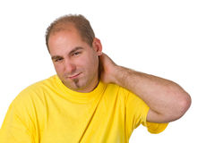 Neck pain Stock Photos