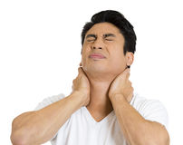 Neck pain Royalty Free Stock Image