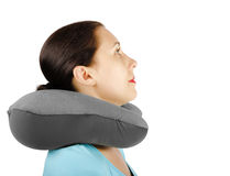 Neck pillow Stock Photo