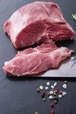 Neck steak Stock Images