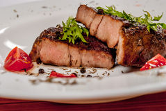 Neck steak Royalty Free Stock Images