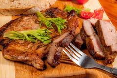 Neck steak Stock Photo