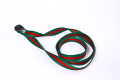 Neck strap lanyard Stock Images