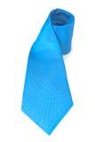 Neck Tie. Blue Neck Tie isolated on white Stock Photo