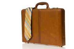 Neck Tie and Briefcase Royalty Free Stock Image