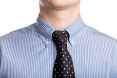 Neck tie isolated Royalty Free Stock Photo