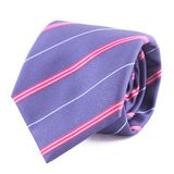 Neck tie rolled up Stock Image