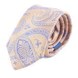 Neck tie rolled up Stock Photo