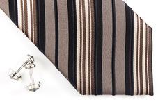 Neck Tie. On the white background Stock Photo