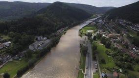 Neckar Imágenes de archivo libres de regalías