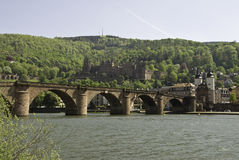 Neckar Bridge Stock Images