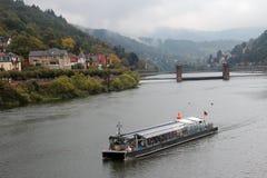 Neckar cruiseship Stock Photography