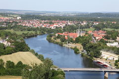 Neckar river, Germany Royalty Free Stock Image