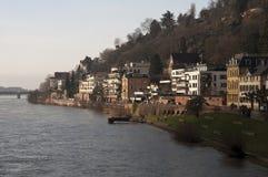 Neckar River in Heidelberg Royalty Free Stock Photo