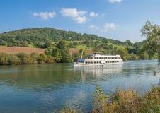 Neckar River near Heidelberg,Germany Royalty Free Stock Images