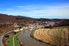 Neckar rzeka Zdjęcie Stock